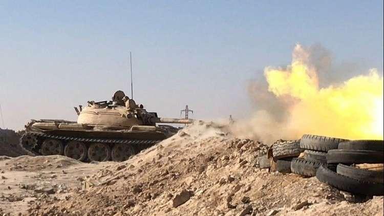 الجيش السوري يطارد