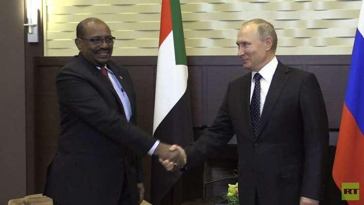 البشير: موقفنا متطابق مع روسيا بشأن الملف السوري