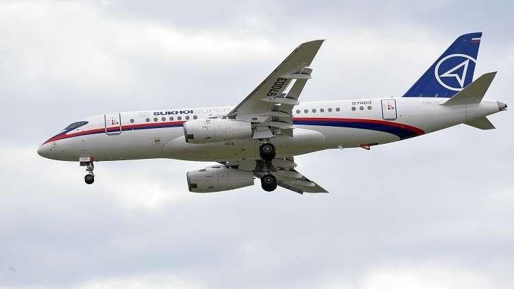 الطائرة Sukhoi Superjet-100 الـ150 تقوم بأول رحلة