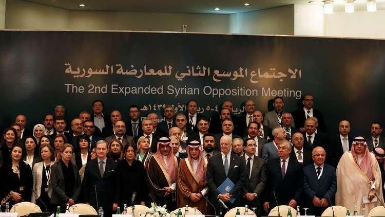 الهيئة العليا للمفاوضات السورية تشكل وفدها إلى جنيف