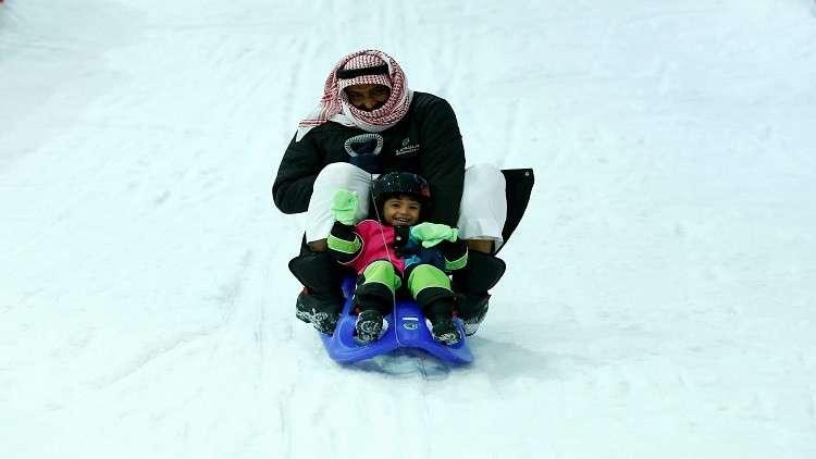 شتاء مثلج ودرجات حرارة تحت الصفر في السعودية!