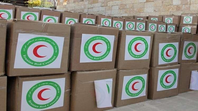 قافلة مساعدات إنسانية إلى مدينة البوكمال تثير جدلا في إيران