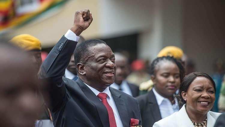 رئيس زيمبابوي الجديد يدعو المواطنين لإعادة بناء البلاد