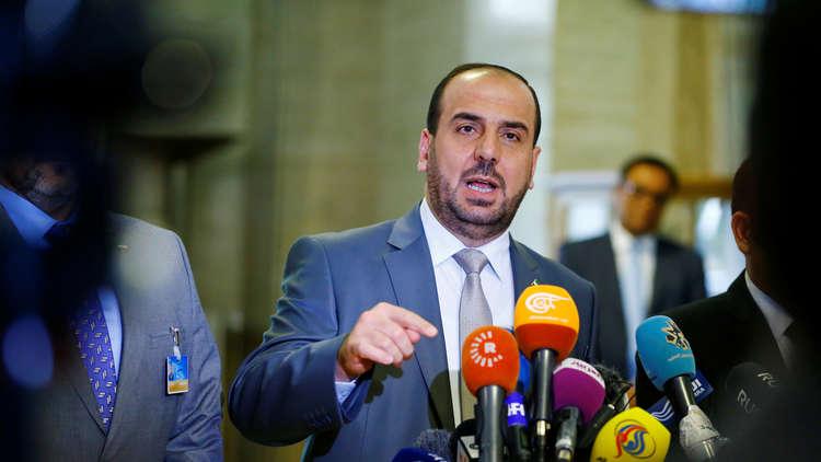 نصر الحريري يترأس وفد المعارضة السورية إلى مفاوضات جنيف