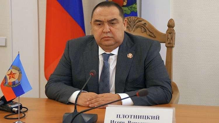 وزير الأمن يترأس إقليم لوغانسك في أوكرانيا