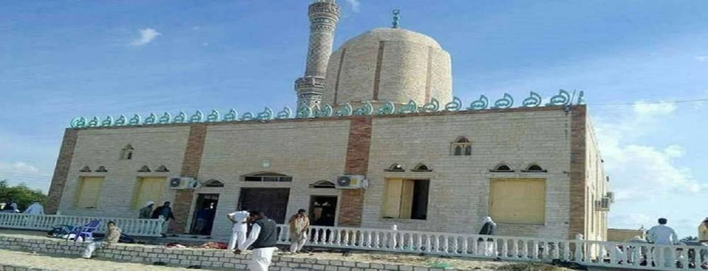 مجزرة مسجد الروضة بسيناء