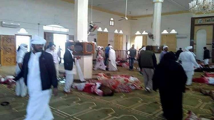مرشح لرئاسة مصر: مصادفة خطيرة وقعت في حادث مسجد الروضة