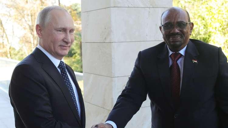 البشير يكشف عن مشاريع السودان مع روسيا