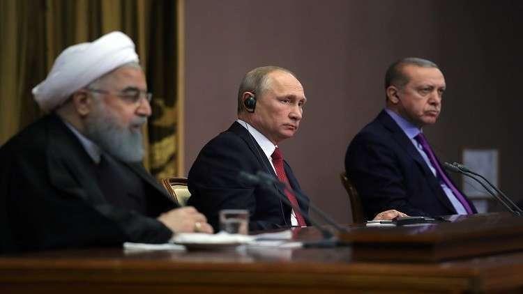 أردوغان: سنواصل مع روسيا وإيران محادثات دورية حول سوريا