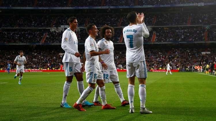 ريال مدريد يخرج من عنق الزجاجة أمام ملقا