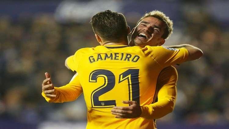 أتلتيكو مدريد يكتسح ليفانتي بخماسية في الليغا