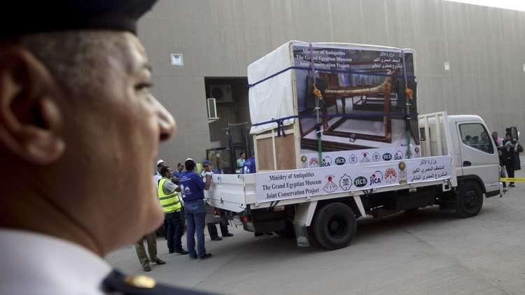 مصر تعلن نقل كمية كبيرة من الآثار لأكبر متحف في العالم