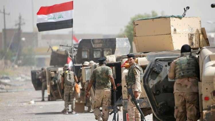القوات العراقية تعلن حصيلة العملية المستمرة ضد