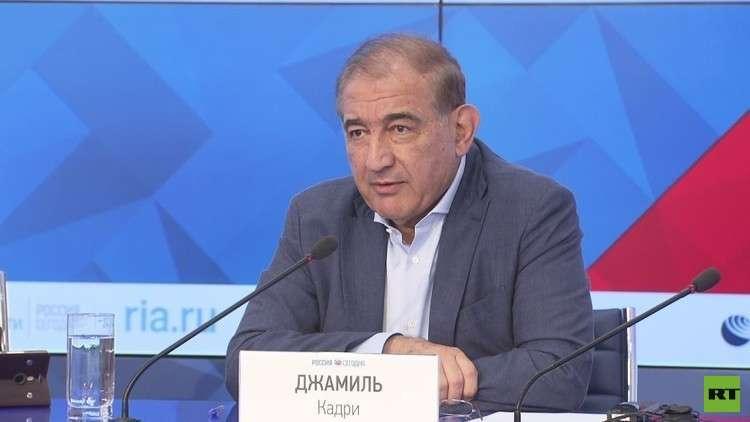رئيس منصة موسكو للمعارضة السورية قدري جميل