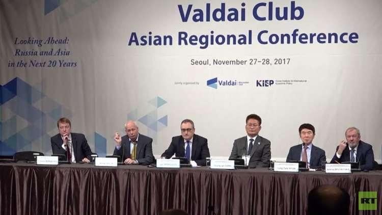 مشاورات بوساطة روسية للتسوية الكورية