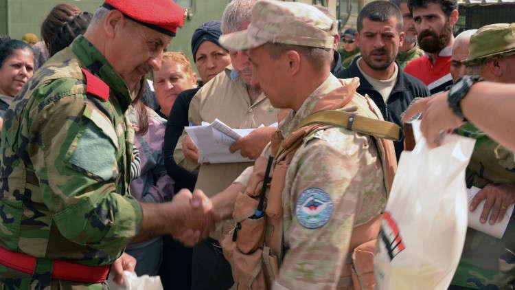 إنترفاكس: الدفاع الروسية تقترح وقف إطلاق النار في الغوطة الشرقية يومي 28 و29 نوفمبر