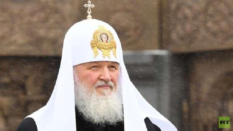 البطريرك الروسي يحذر الكهنة من بريق الإعلام