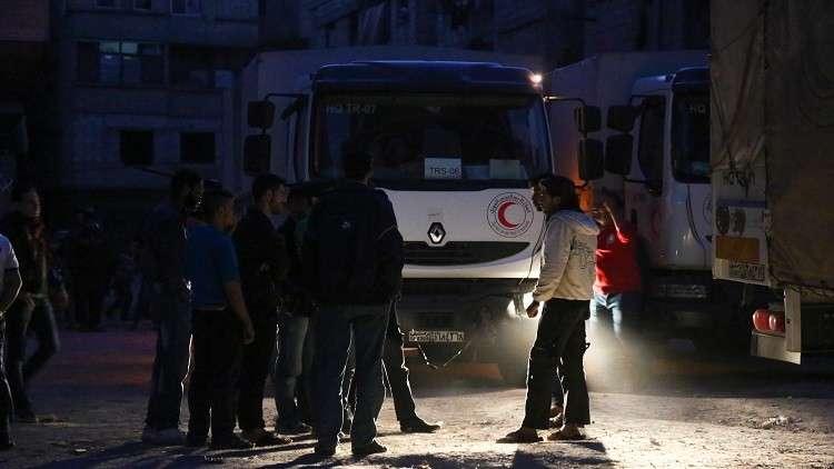 الأمم المتحدة: 500 شخص بحاجة لإجلائهم فورا من الغوطة الشرقية
