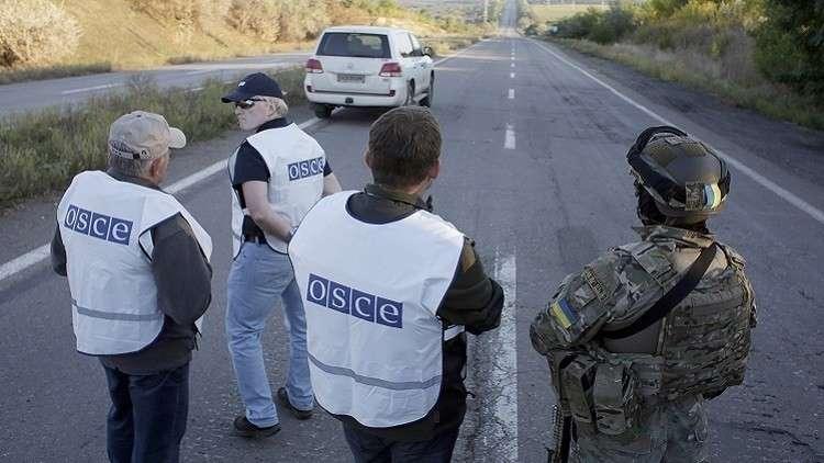 بعثة المراقبة الدولية: سقوط 400 مدني بين قتيل وجريح بشرق أوكرانيا هذا العام