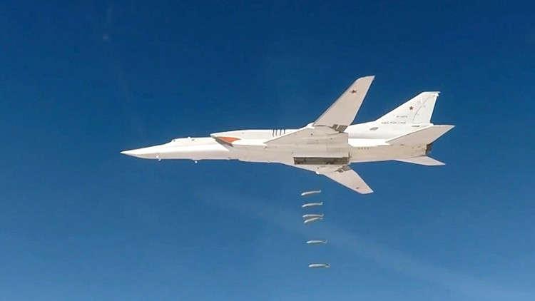 الدفاع الروسية: قواتنا الجوية دمرت 910 مواقع للمسلحين بسوريا