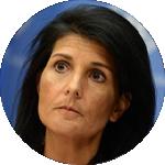 نيكي هايلي سفيرة الولايات المتحدة لدى الأمم المتحدة