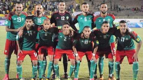 المنتخب المغربي لكرة القدم