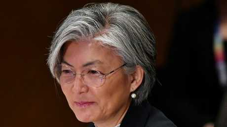 وزيرة خارجية كوريا الجنوبية، كانغ كيونغ