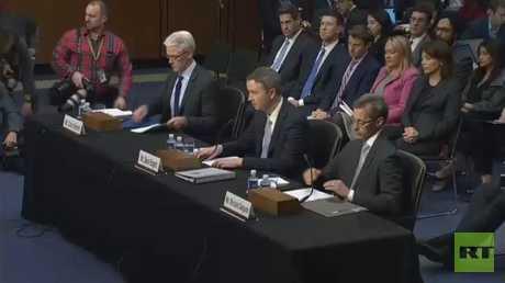 الكونغرس ينتقد شركات تواصل اجتماعي
