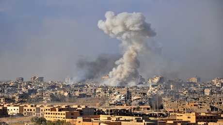 غارة جوية على شرق مدينة دير الزور، سوريا، 31 أكتوبر 2017