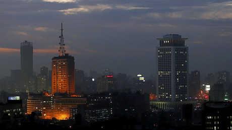 مبنى الإذاعة والتلفزيون في القاهرة