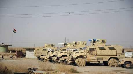 أرشيف - المعدات العسكرية التابعة لوحدات البيشمركة
