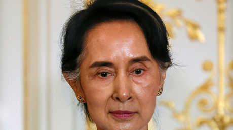 زعيمة ميانمار، أونج سان سو كي