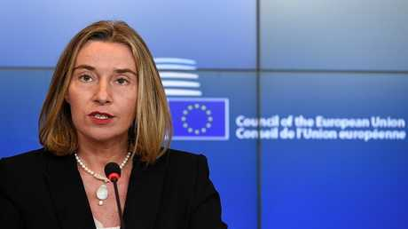 فيديريكا موغيريني مفوضة السياسة الخارجية في الاتحاد الأوروبي