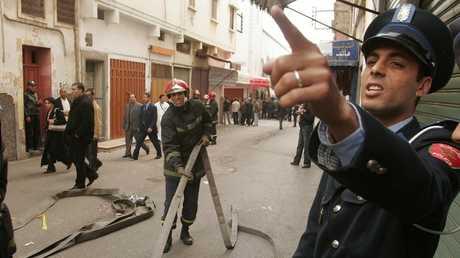 شرطة في المغرب - أرشيف -