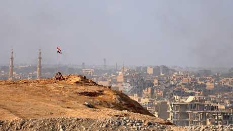 مدينة دير الزور السورية 2 نوفمبر 2017