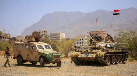 عناصر للجيش اليمني
