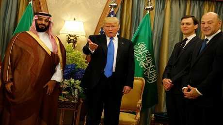 الرئيس الأميركي دونالد ترامب وولي العهد السعودي الأمير محمد بن سلمان