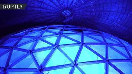 أكبر قبة سماوية في العالم تفتح في سان بطرسبورغ