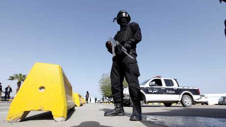 عناصر الشرطة الموالية لحكومة الوفاق الوطني الليبية
