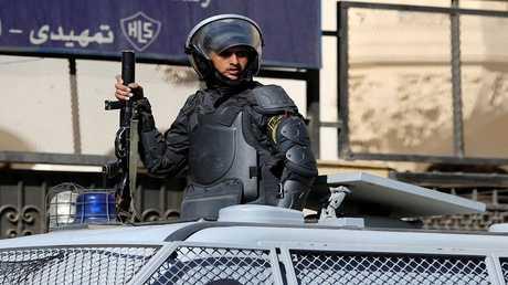 عنصر من قوات الأمن السعودية