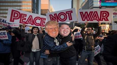 من الاحتجاجات في سيئول