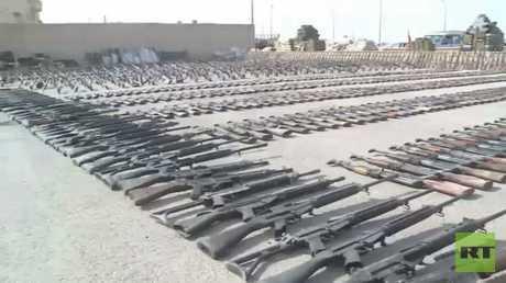 ضبط كميات كبيرة من الأسلحة بدير الزور