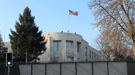 السفارة الأمريكية لدى أنقرة