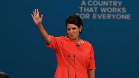 بريتي باتيل، وزيرة التنمية الدولية البريطانية