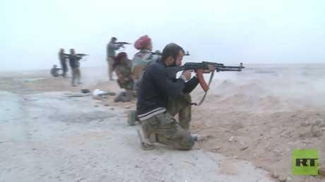 القوات السورية تتقدم نحو البوكمال