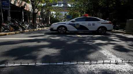 سيارة شرطة في الصين