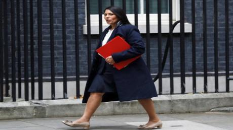 بريتي باتيل وزيرة التنمية الدولية في بريطانيا