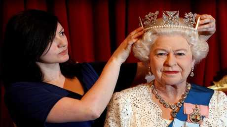 الملكة إليزابيث البريطانية، لندن 14 مايو 2012