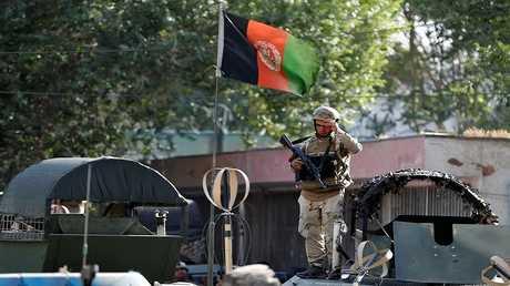 عنصر من القوات الأفغانية - أرشيف -