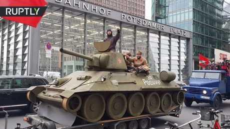 احتفال بمئوية الثورة البلشفية في برلين